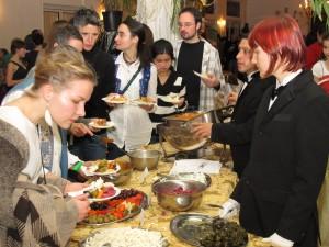 """Balkan finger food, """"meze"""", is part of the deal"""