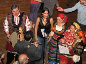 Pesnopojka, Bulgarian women's song with gadulka, a Bulgarian bowed fiddle, and tupan (or darabuka), a double sided drum