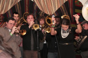 The West Philadelphia Orchestra playing Balkan dance tunes