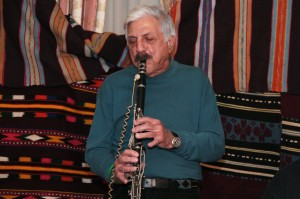 Souren Baronian is known for his jazz influenced Balkan taksims (long wandering solos)